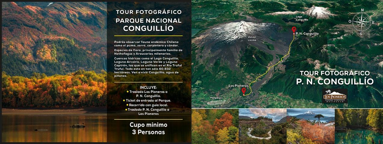Los Pioneros Melipeuco - Tour Fotográfico